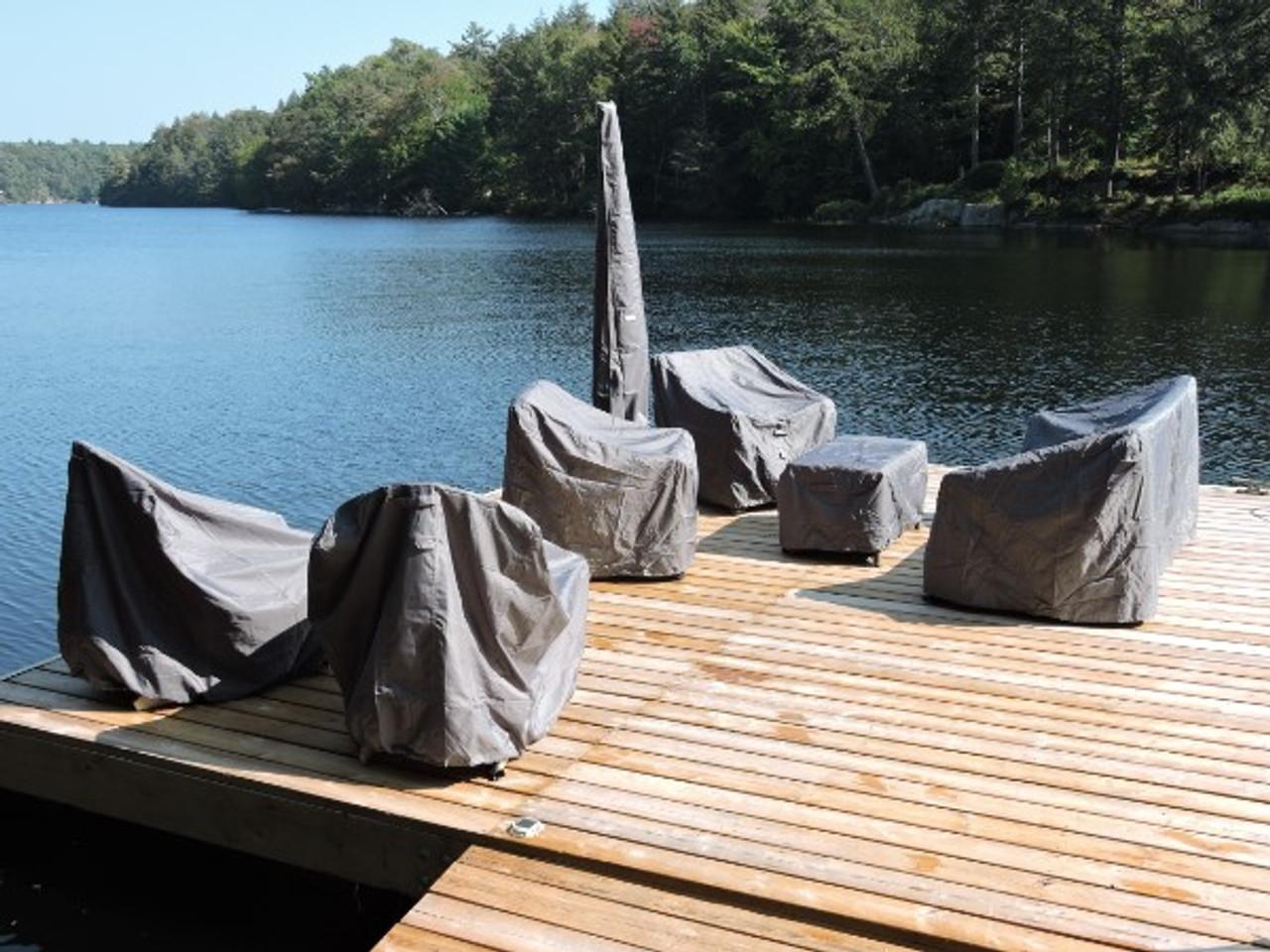 Deep HiBack Club Chair Cover (38Wx36Dx34H) (Avalon #51581)