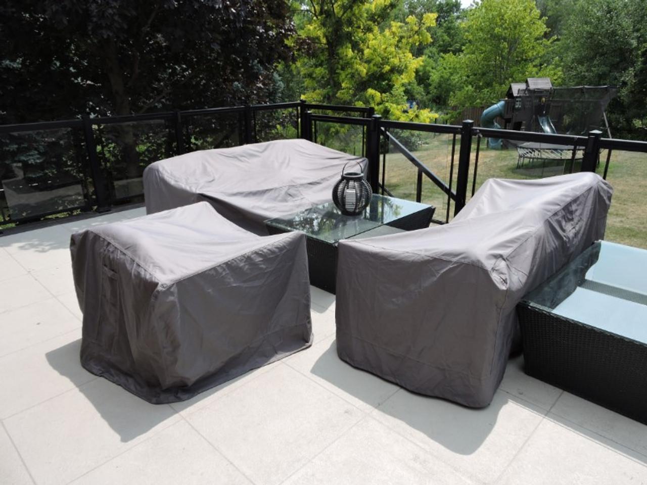 Deep Box Sofa Cover LG (94Wx40Dx28H) (Avalon #51594)