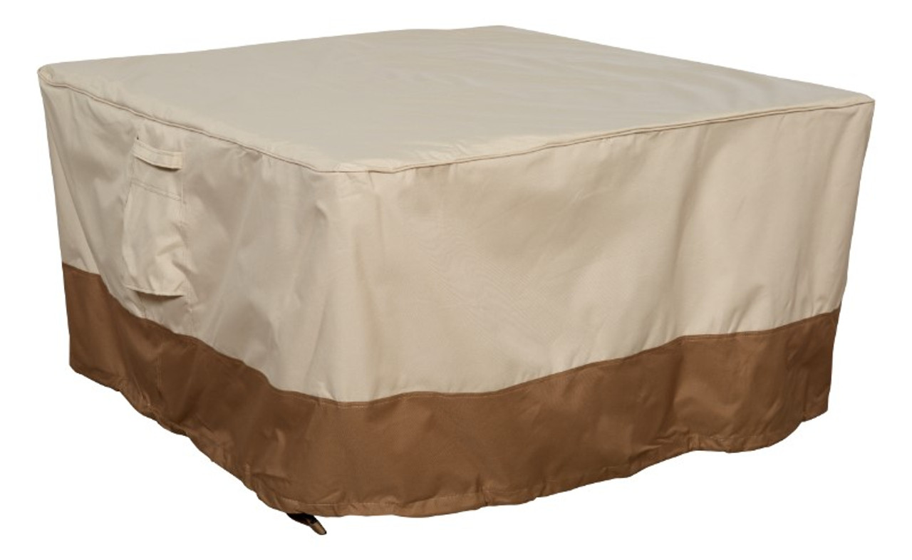 Savanna square fire table cover
