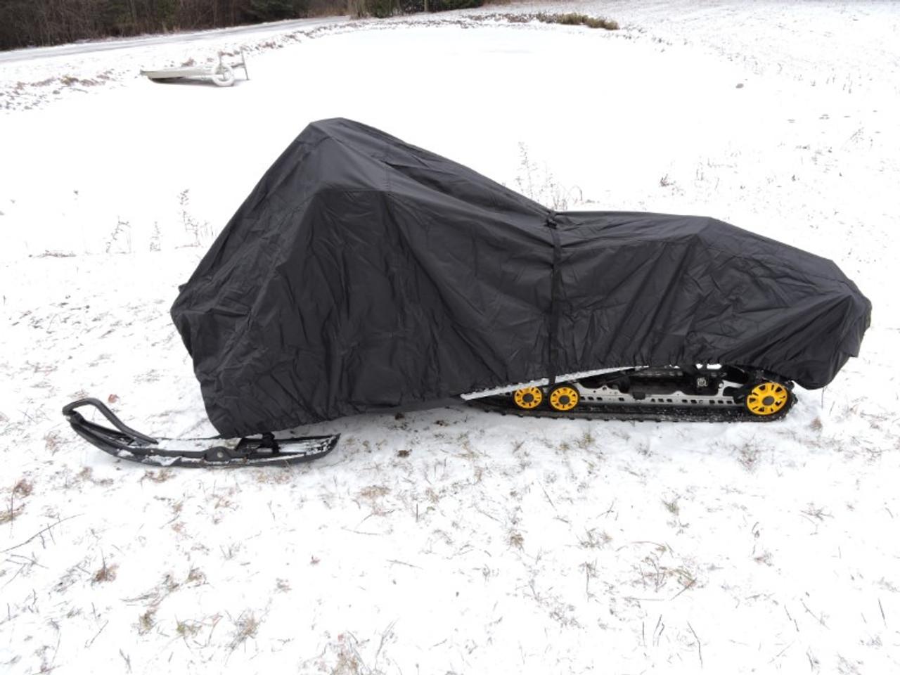 Advantage snowmobile cover side view