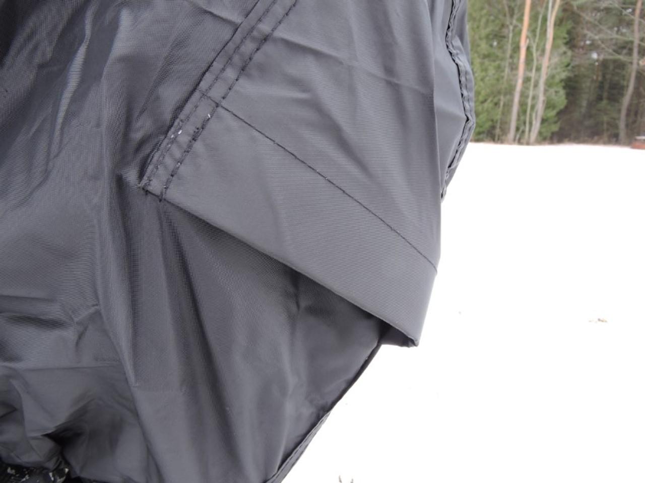 Advantage snowmobile cover rear vents