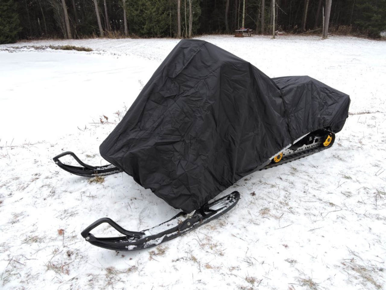 Advantage snowmobile cover front view