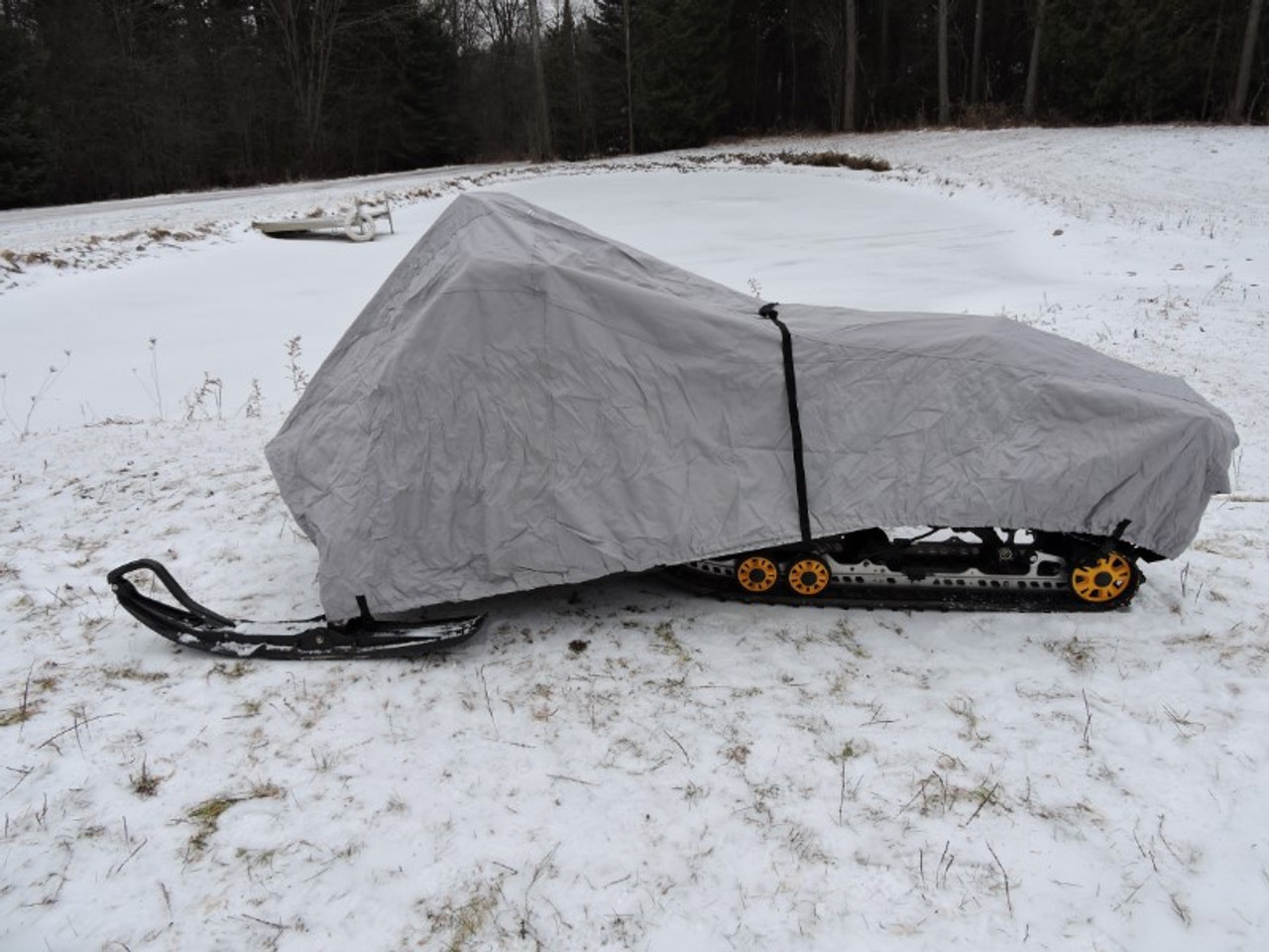Venture snowmobile cover side view
