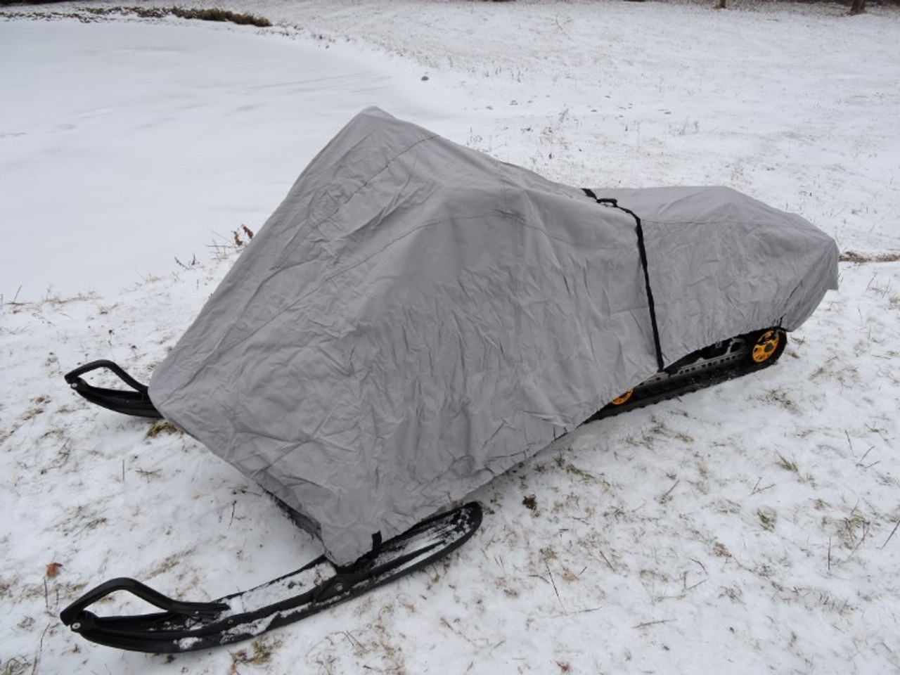Venture snowmobile cover front view
