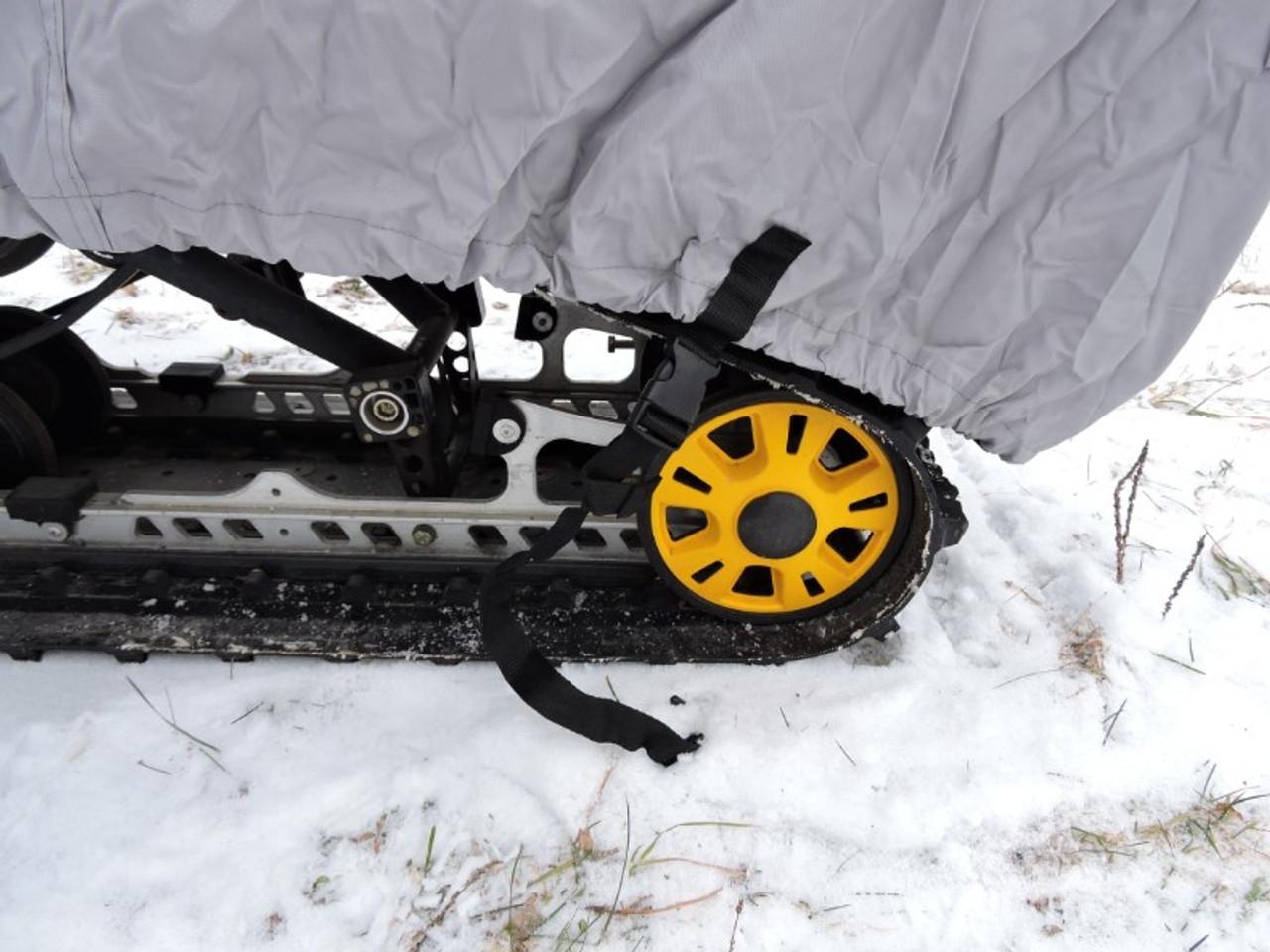 Venture snowmobile cover rear strap