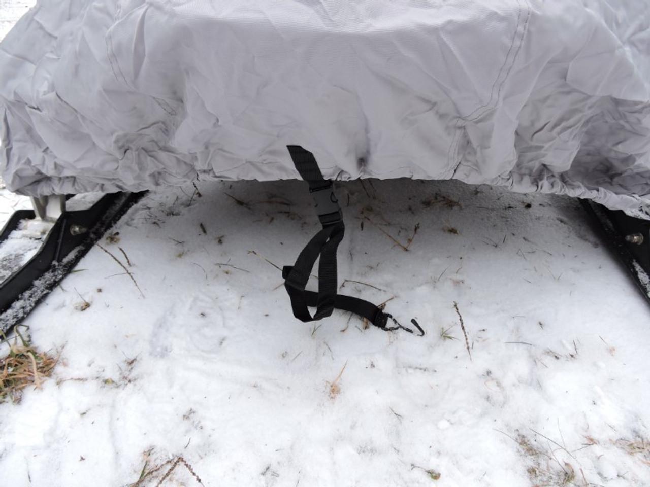 Venture snowmobile cover nose strap