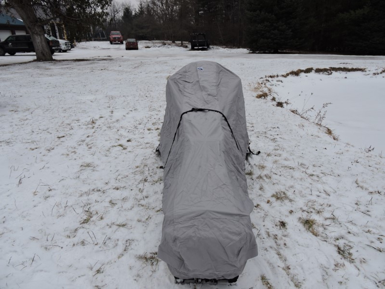 Venture snowmobile cover rear view