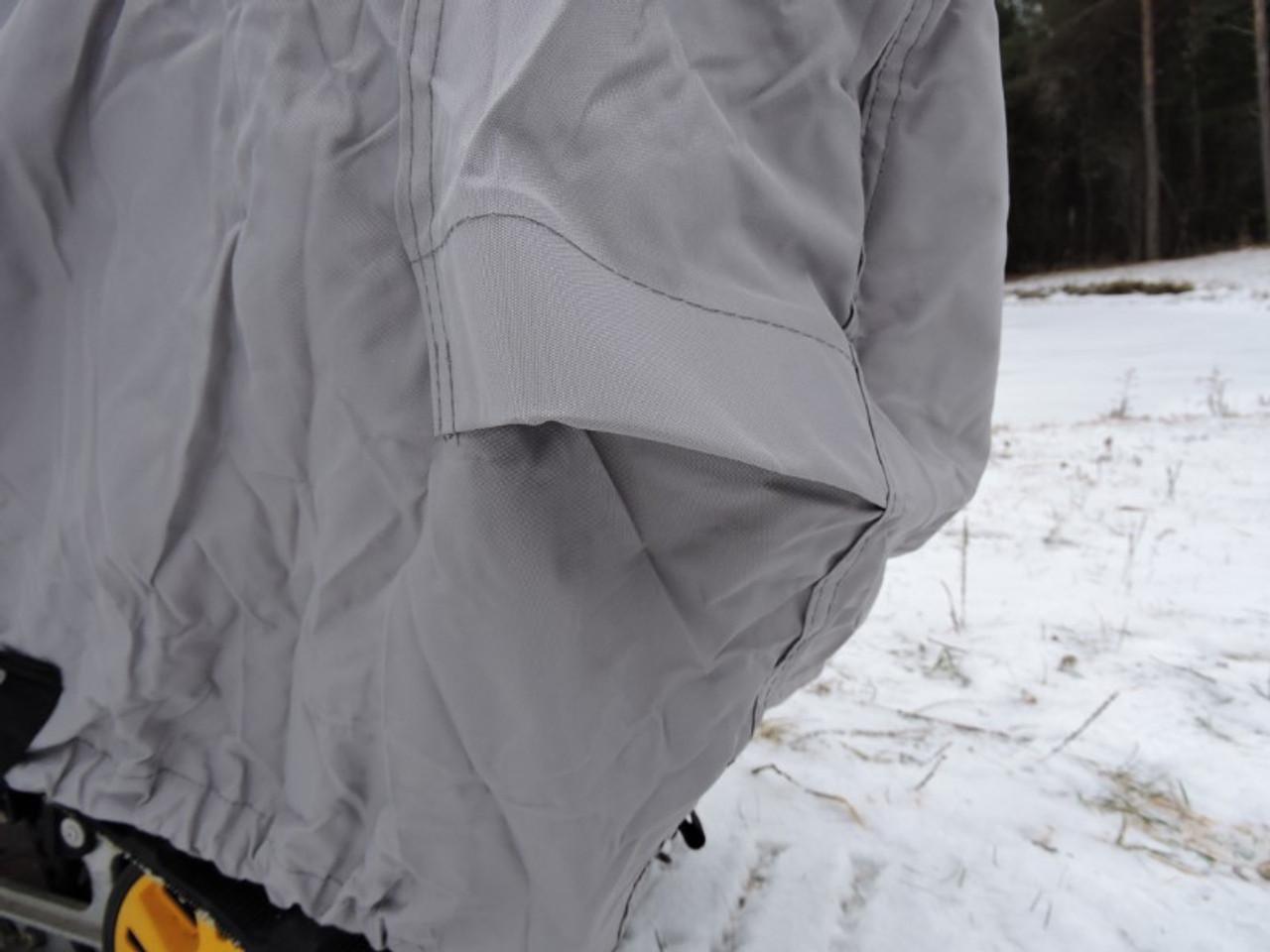 Venture snowmobile cover rear vents