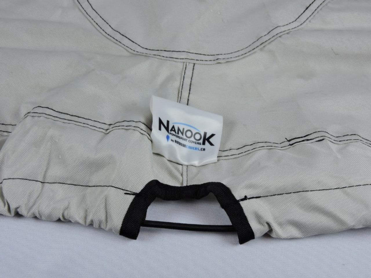Nanook heavy duty trailering cover nose and tail anchor ring pass through
