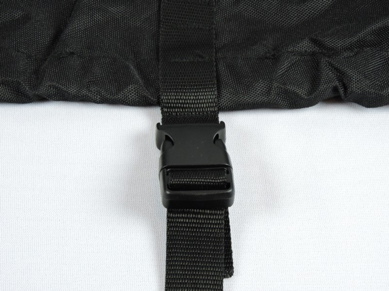 Nanook heavy duty trailering cover side tie down straps