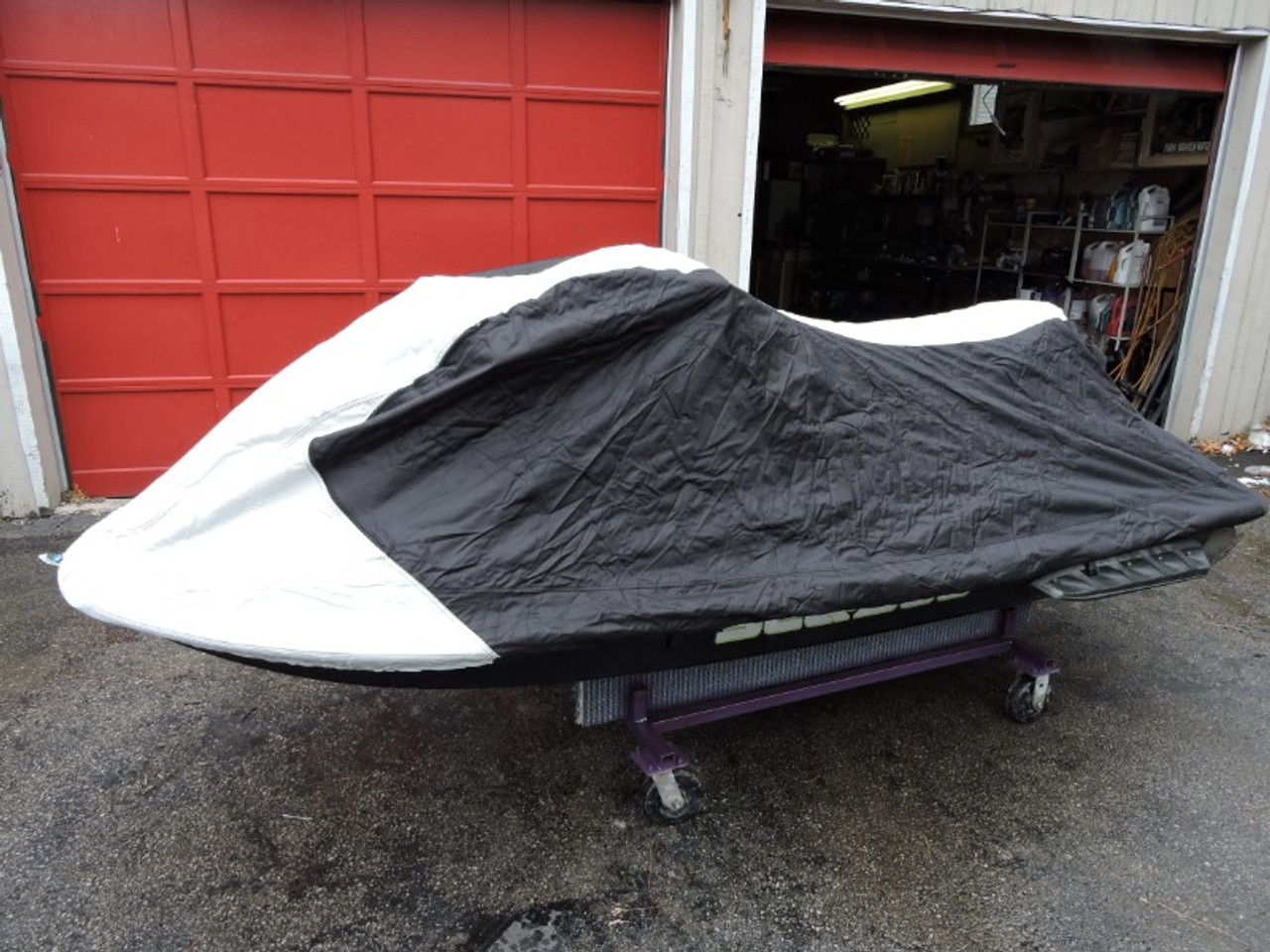 Nanook heavy duty trailering cover side view