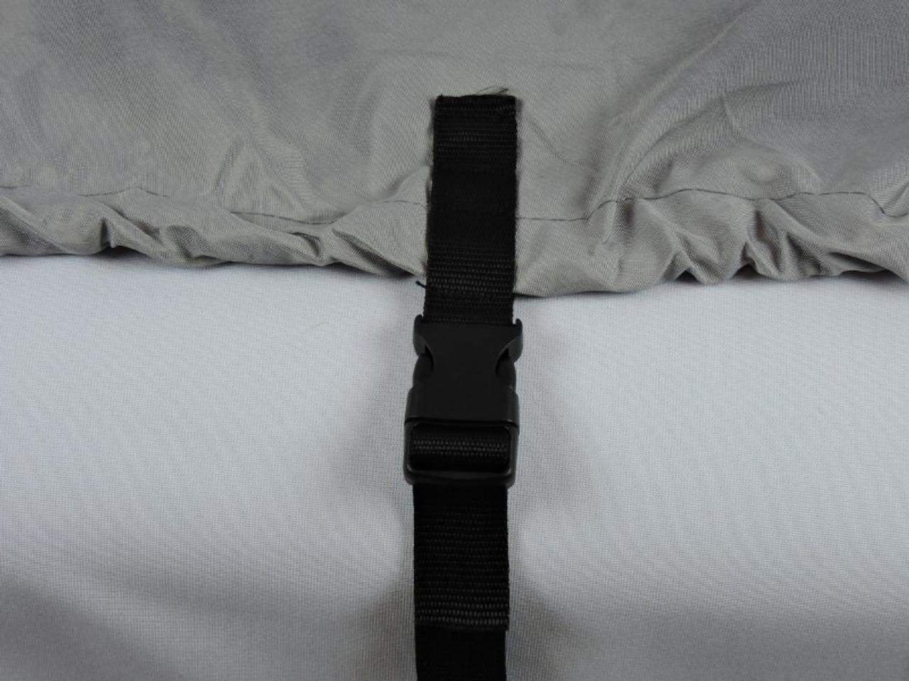 Venture all season storage cover side tie down straps