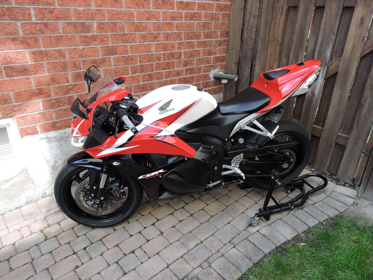 Sport Bike without cover