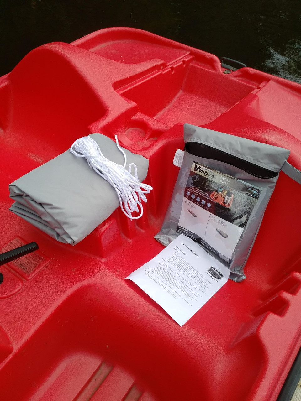 Venture Pedal Boat cover contents