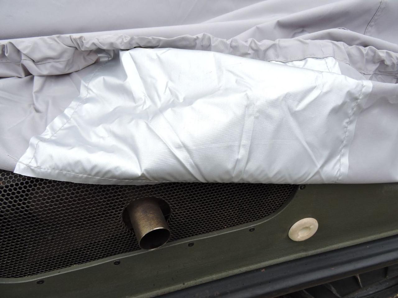 Venture XTV ARGO cover exhaust pipe heat shield