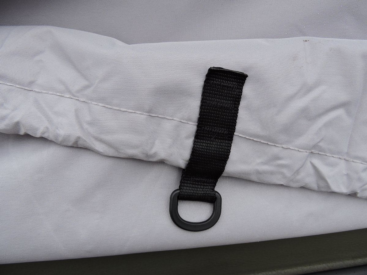 Venture XTV ARGO cover with strong elastic hem cord and tie downs