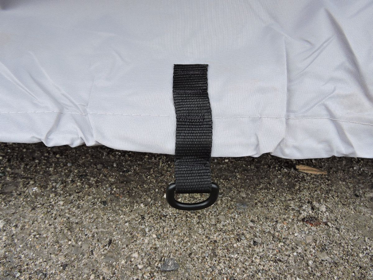 Venture UTV side by side cover secure tie elastic cord hem and tie downs
