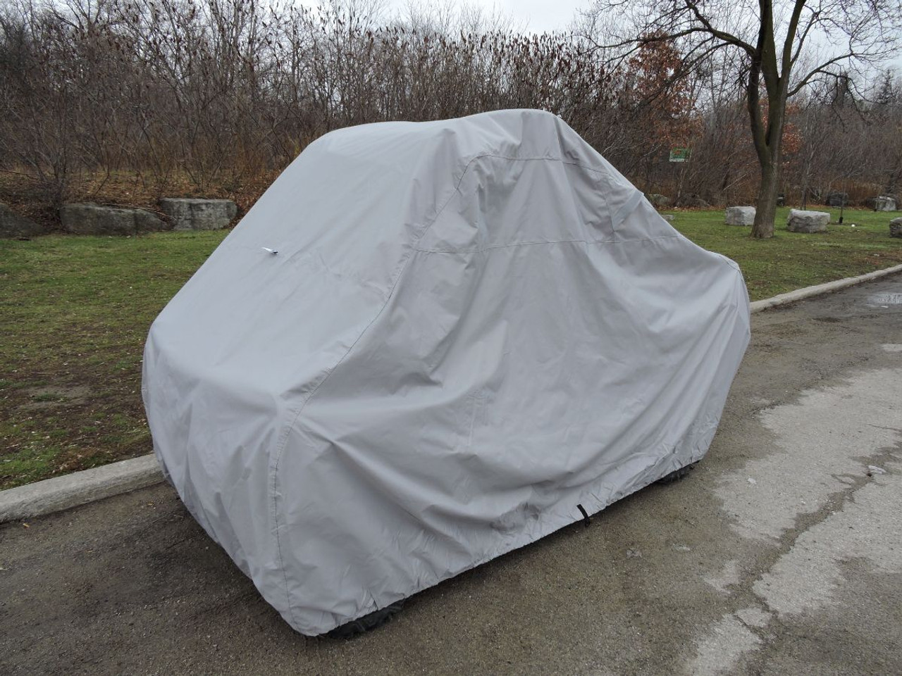 Venture UTV side by side cover with premium all weather marine fabric
