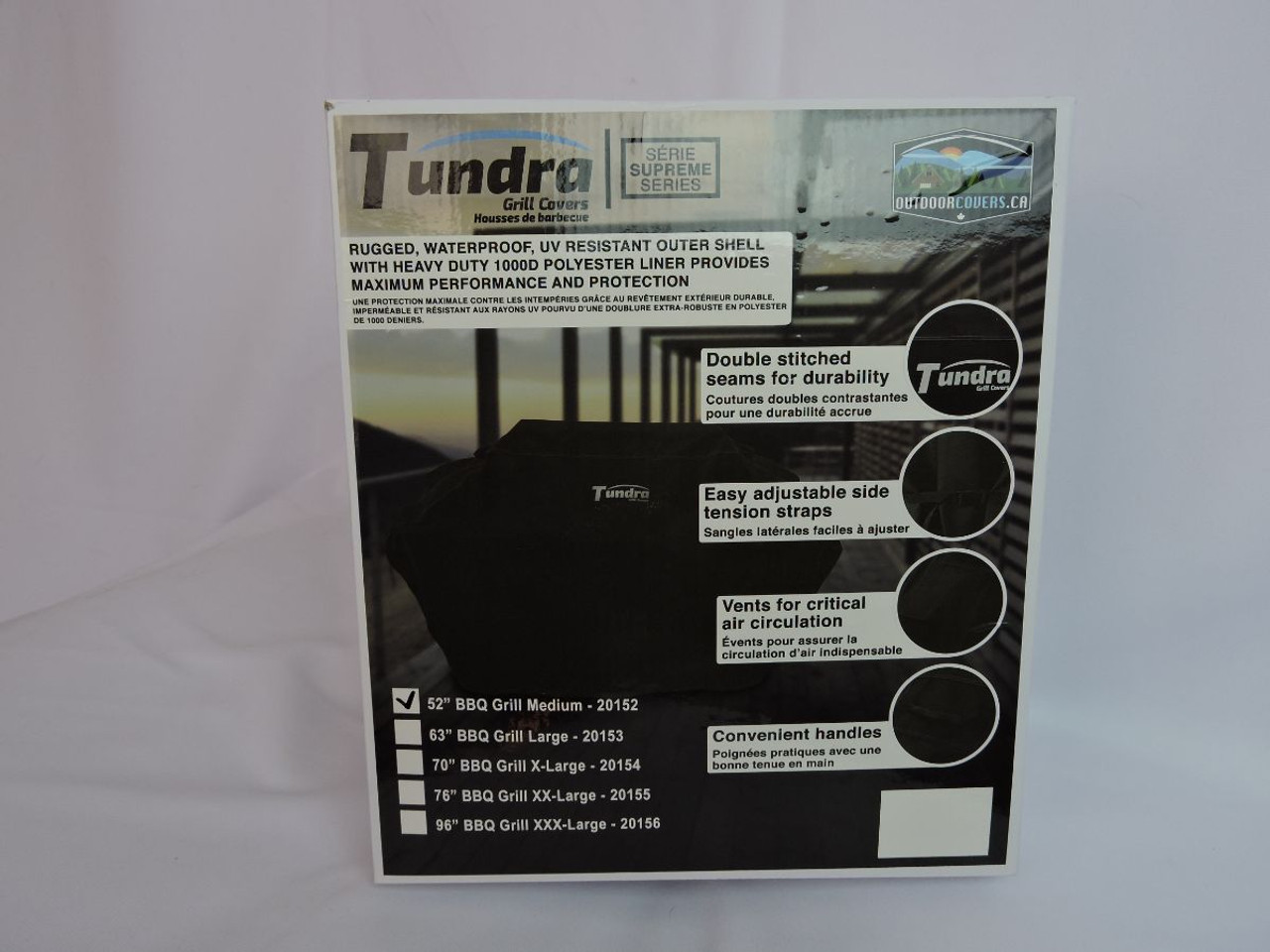 Tundra Grill Covers packaging