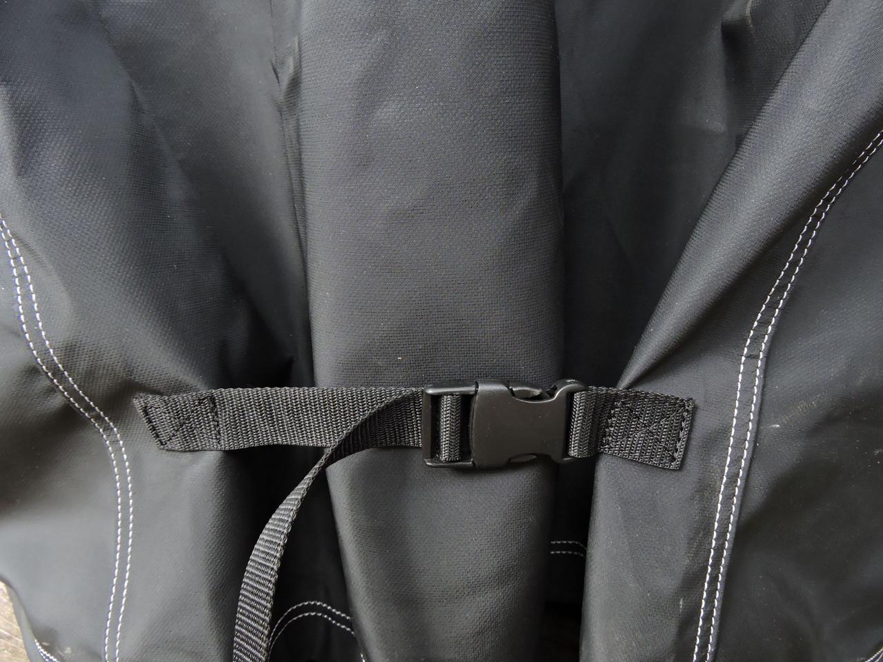 Tundra Supreme Grill Cover; Convenient side tension straps
