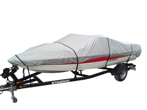 22/' 24/' V-Hull Bowrider Runabouts Trailerable All Weather boat Storage Cover