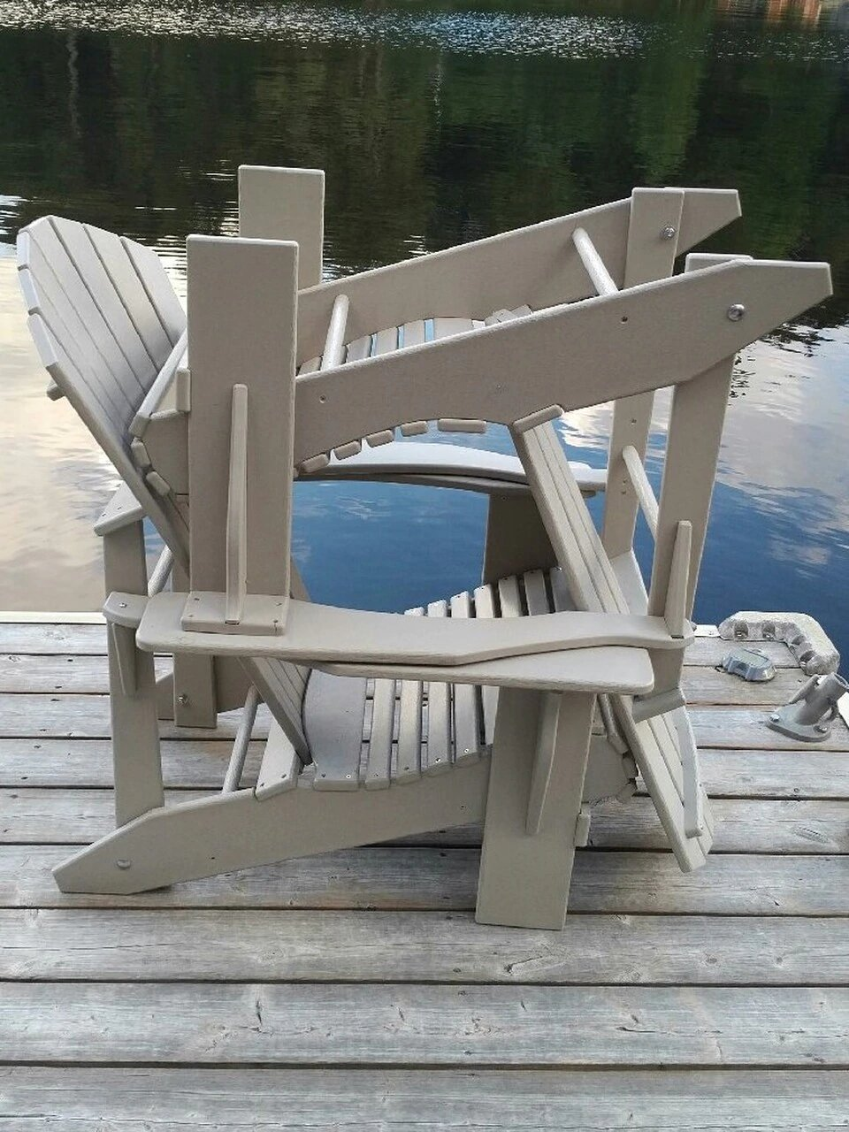 The solution to winter storage for Adirondack and Muskoka Chairs