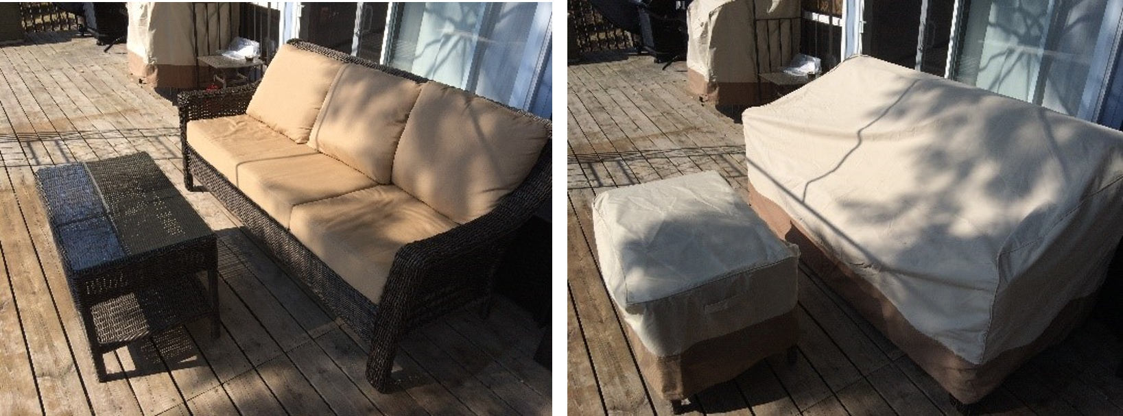 Buy quality patio furniture covers to enhance the look of your patio or deck