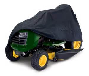 Cover up that super lawn tractor with a protective cover