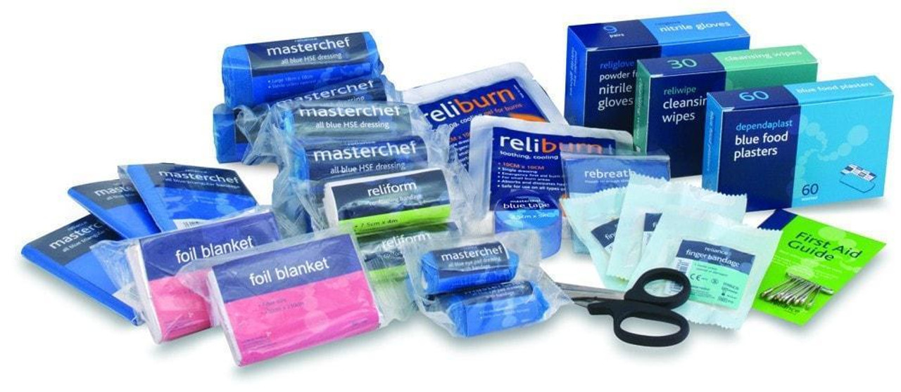Refill for BS8599-1 Medium Catering Kit - Jax First Aid dec49e9819a55