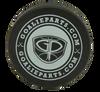 GoalieParts.com Black Hockey Puck