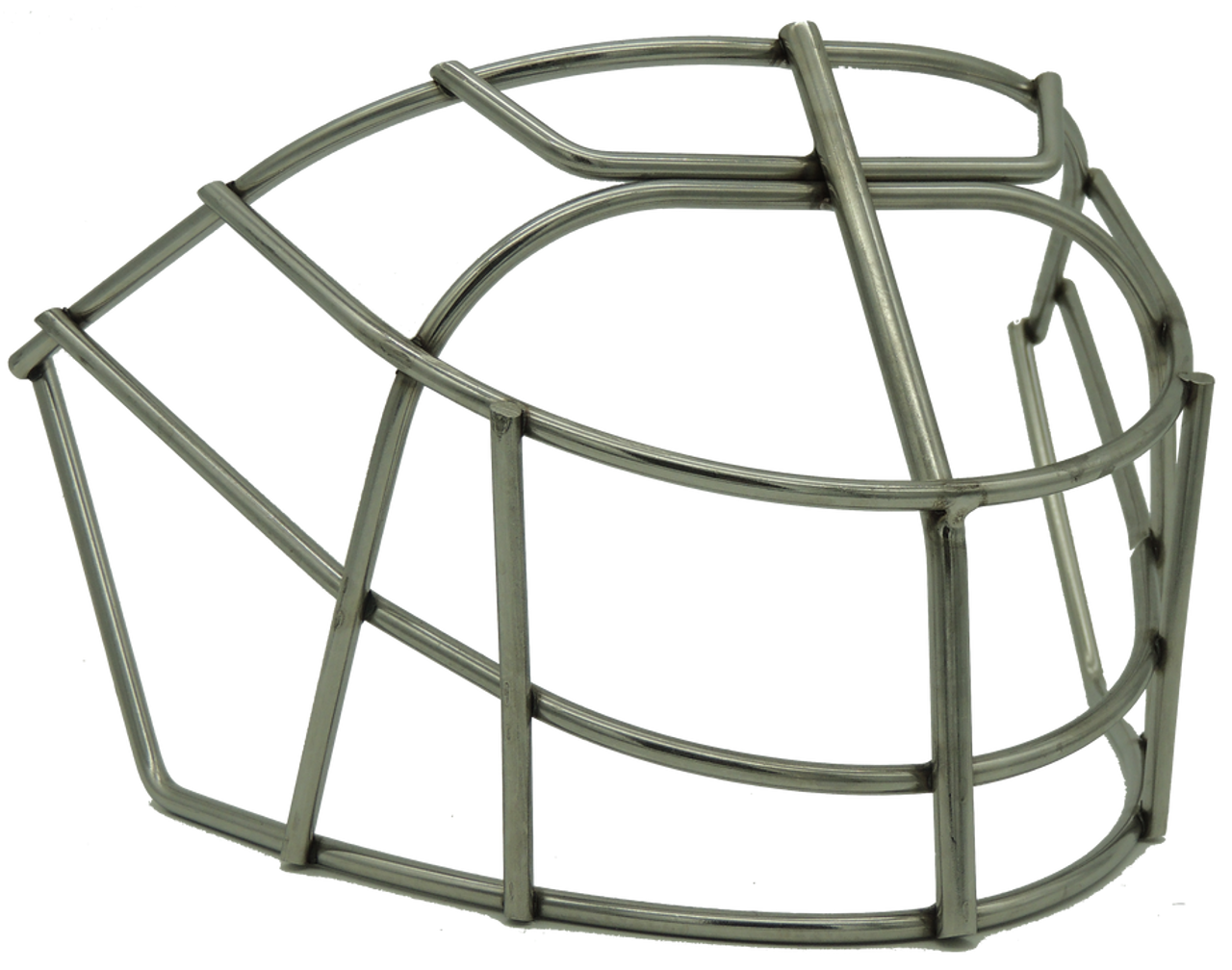 CCM Non-Certified Open Mouth Cat-Eye Cage by Otny - Stainless Steel