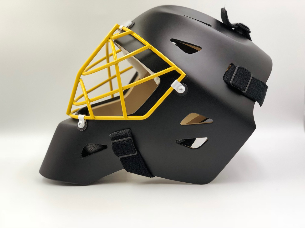 OTNY X1 Pro Goalie Mask with Non-Certified Cat-Eye Cage