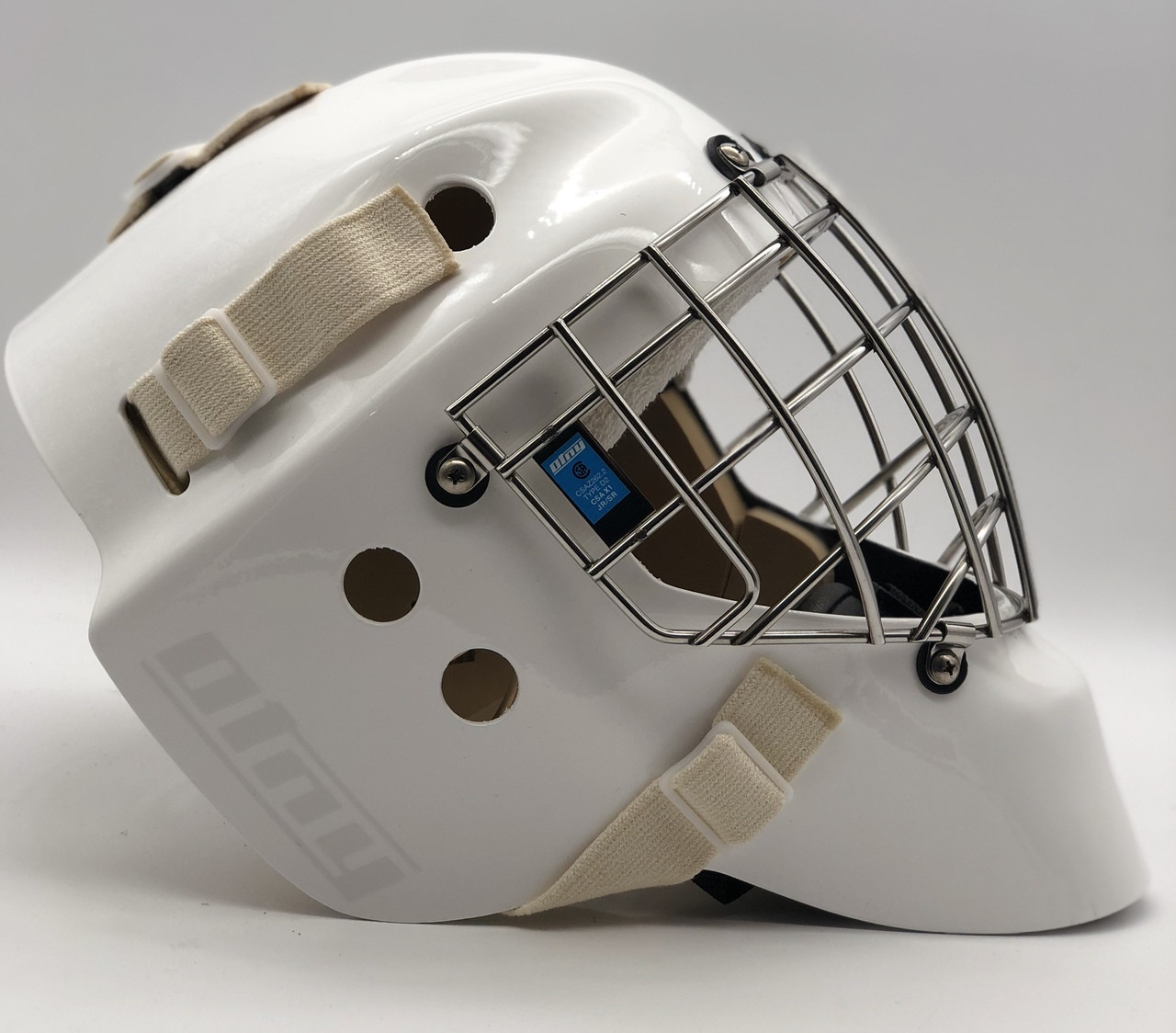 OTNY X1 Elite Goalie Mask with Certified Straight Bar Cage