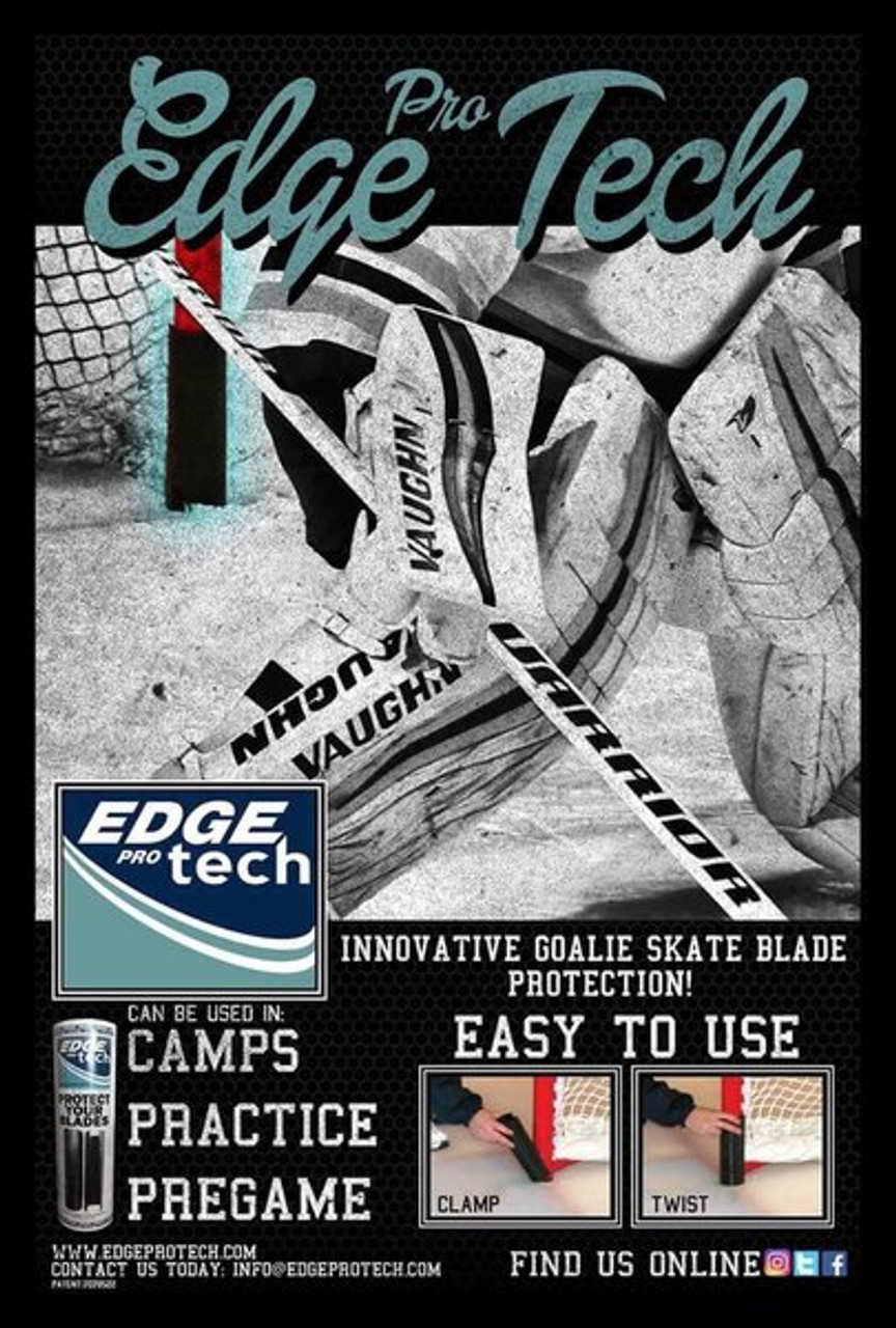 Edge Pro Tech Skate Blade Protector - Used at all levels from amateur to the NHL!