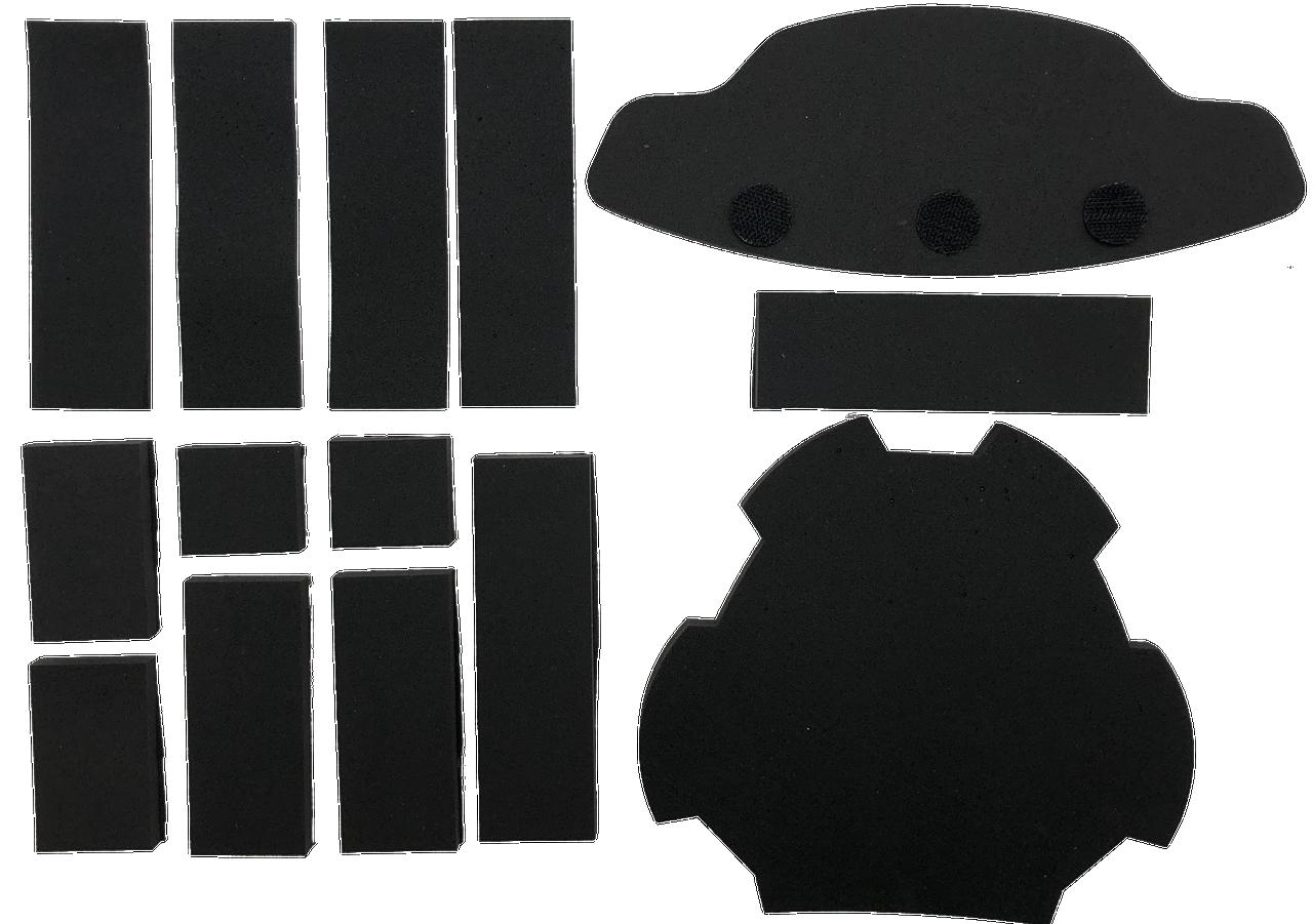 ECOproFOAM Goalie Mask Padding Replacement Kit
