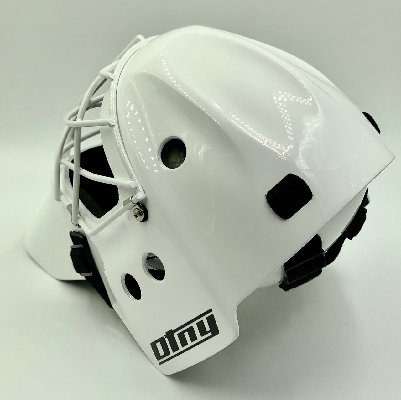 Custom Whites Tons of Colors Made in NC goalie toe ties Halo Hockey