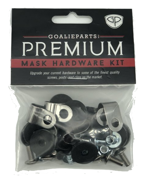 GoalieParts Premium Goalie Mask Replacement Hardware Set