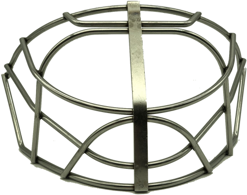 Sportmask Non-Certified Pro Cat-Eye Short Cage - Stainless Steel