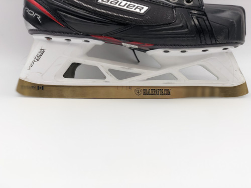 Tydan Gold TiN Coated Bauer Vapor and Supreme Goalie Replacement Steel