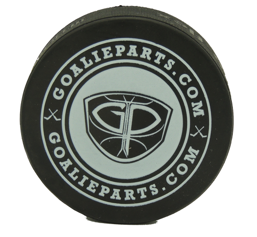 GoalieParts.com Black Hockey Puck