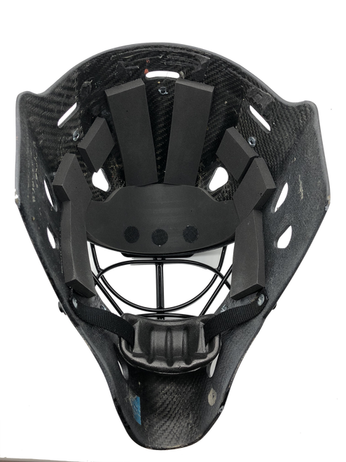 ECOproFOAM Goalie Mask Padding Replacement Kit - Installed