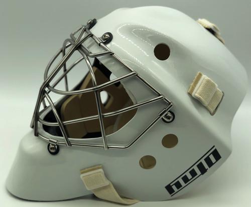 OTNY XL1 Kevlar Goalie Mask - Big Helmet!  - White