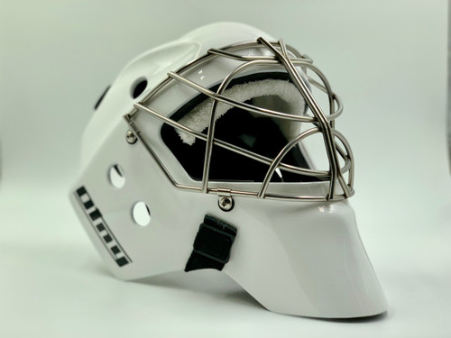 OTNY DECOi Custom Goalie Mask  with Non-Certified Double Bar Cat-Eye Cage