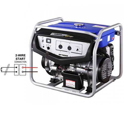 Yamaha EF7200E (6 0KVA) Petrol Generator -2 Wire Auto Start