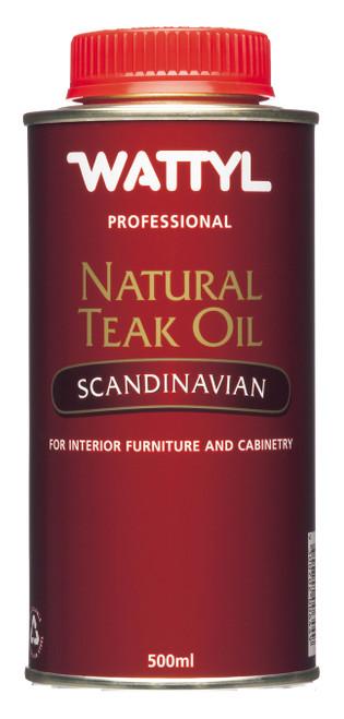 Oil Teak Scandinavian 500Ml