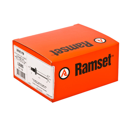 Ramset Drive Pin 65 X 3.8mm Box100