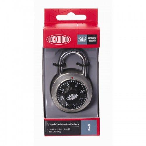 Padlock 50mm Dial Combination