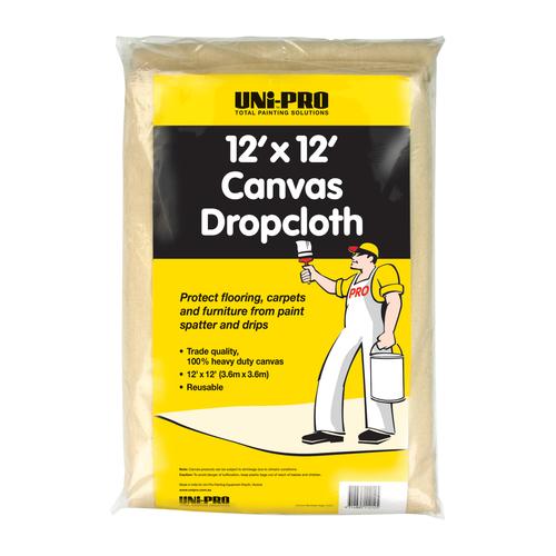 12' Drop Cloth H/D Canvas X
