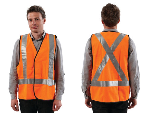 Vest Safety Max Visibility Day/Night