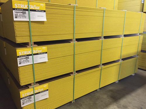 Flooring Yellow Structaflor 19mm 3.6 x 0.9 G.P